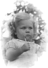 Karen Ann Ostlund, about 1941