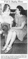 Velda & Karen Ann newspaper photo