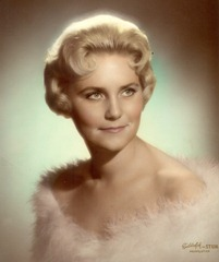 Karen's Glamour Shot--1958-59, Provo