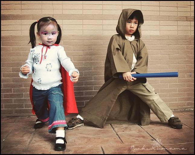 Jedi and Super Fire Girl - 2a