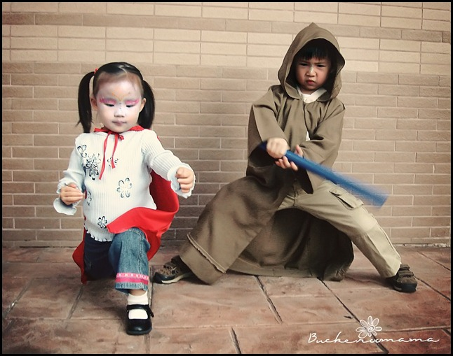 Jedi and Super Fire Girl - 1a