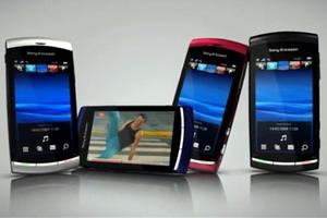 Sony Ericsson Vivaz and Xperia X10