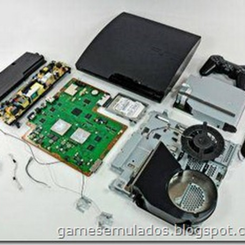 Desmontando um PlayStation 3 Slim