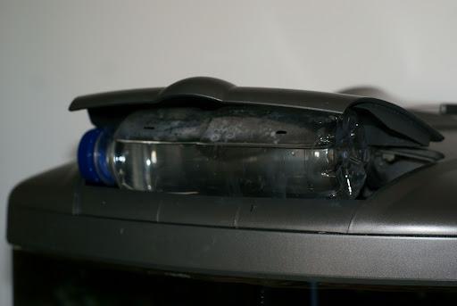 Gotero casero con botella de Aquarius