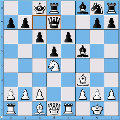 GM Sergey Erenburg - GM Alex Lenderman, Position 1