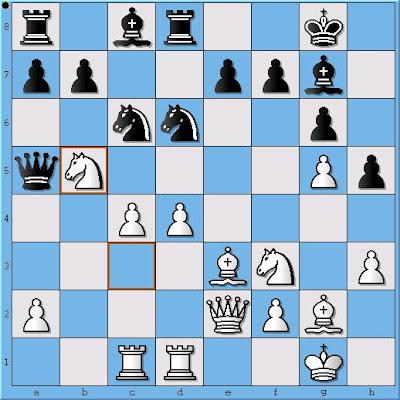 NM Alex Ostrovskiy - NM Ian Schoch, Position 2