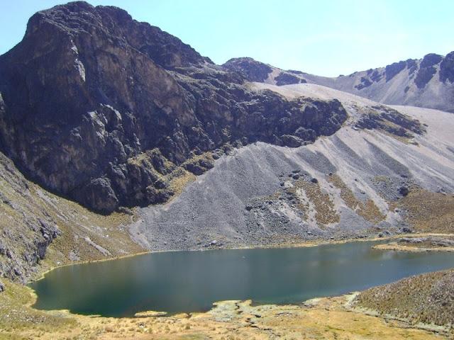 Laguna previa a Quimacocha