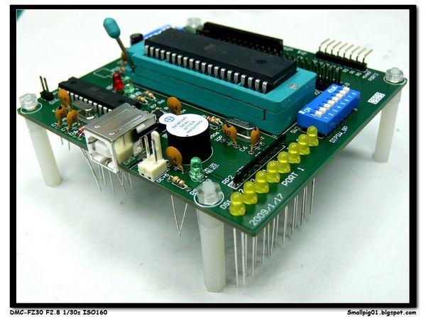 [3C] 實作 KT-89S51 ISP燒錄板 套件包