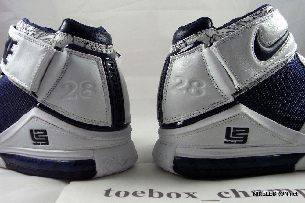 Nike Zoom LeBron II – Marshall Faulk #28 – Player ...