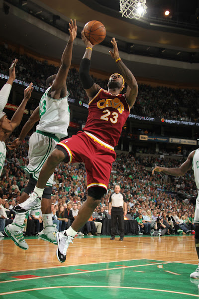 Rondo8217s TripleDouble Lifts Celtics over Cavaliers Series Tied
