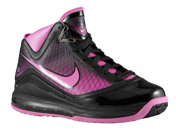 BlackPink Fire Nike Air Max LeBron VII Available in Kids Sizes