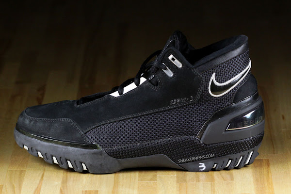 Nike Air Zoom Generation Prototype 8211 Black amp White Wear Test