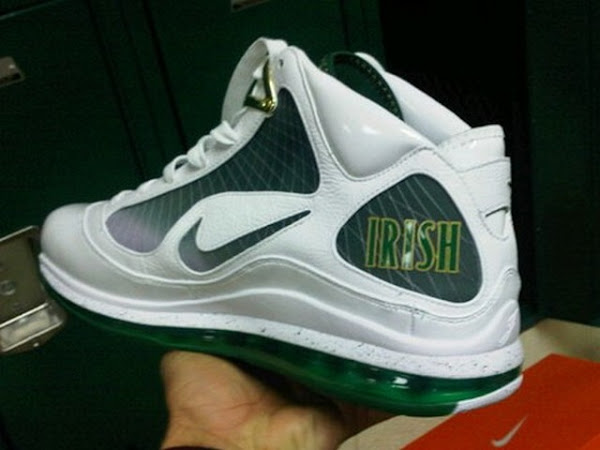 Nike Air Max LeBron VII Saint Vincent Saint Mary Home Edition