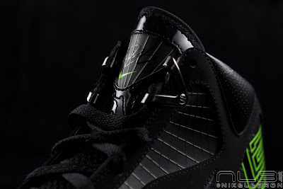 lebron7 black dunkman 68 web Air Max LeBron VII Black/Electric Green aka Dunkman Showcase