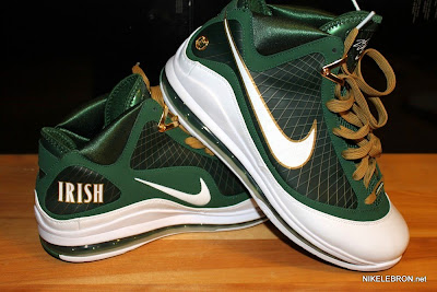 nike air max lebron 7 pe svsm away 2 09 Air Max LeBron VII (7) SVSM Away Player Exclusive Showcase