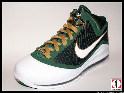 nike air max lebron 7 pe svsm away 3 07 Air Max LeBron VII (7) SVSM Away Player Exclusive Showcase