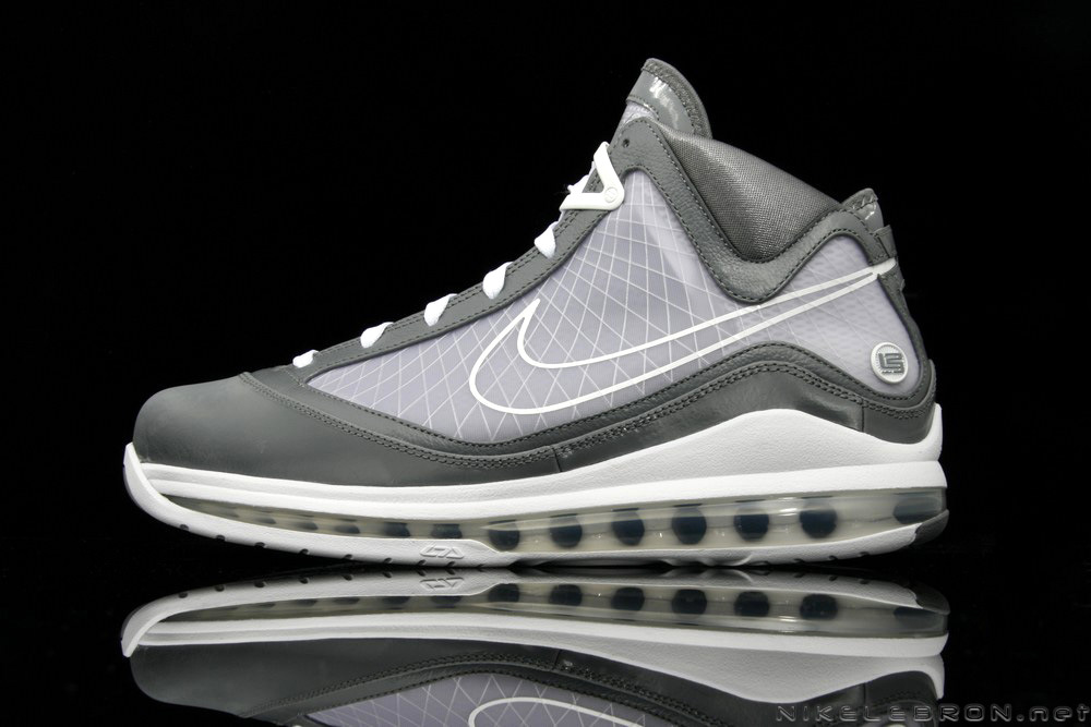 A Fresh Look at Air Max LeBron VII (7) Cool Grey   White  b94f7c59d5