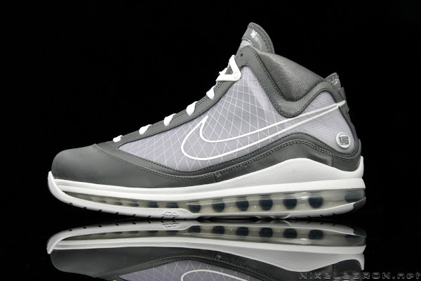 A Fresh Look at Air Max LeBron VII 7 Cool Grey  White