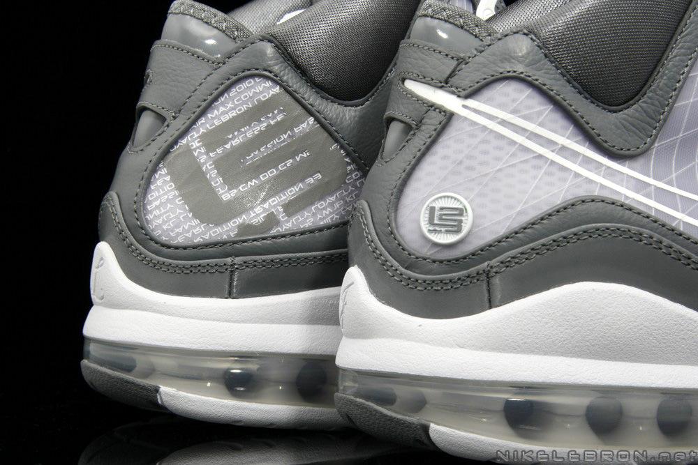 ... A Fresh Look at Air Max LeBron VII 7 Cool Grey White ... 0b2accaa36