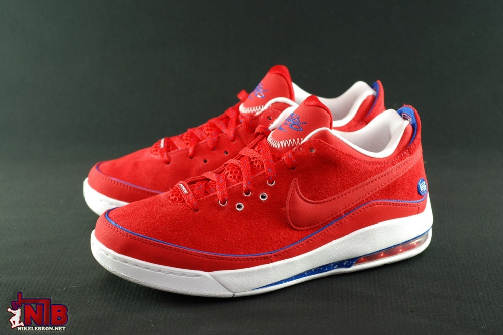Nike Air Max LeBron 7 VII Low Rummor Pack CSKA Moscow