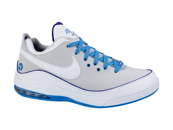 LeBron VII Low 395717102 WhiteSilver Available Now at NDC