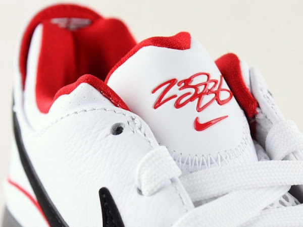 Nike LeBron VII Low WhiteBlackRed General Release Version
