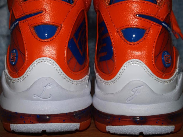Nike Air Max LeBron VII Hardwood Classic Orange PE New Images