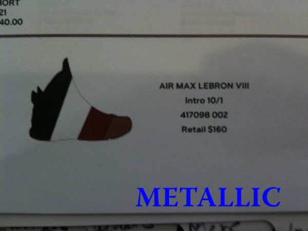 Nike Air Max LeBron VIII Preview 8211 160 Flywire amp New Logo