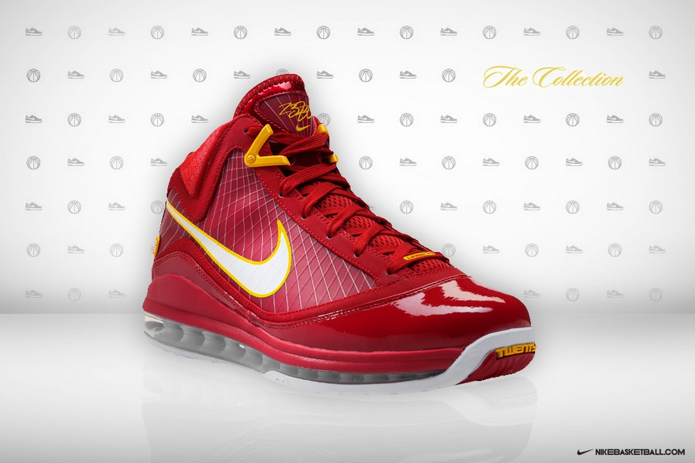 40ca7b8f4ef23 ... Nike Air Max LeBron VII CavFanatic Player Exclusive 8211 New Photos ...