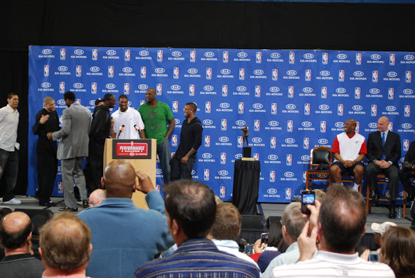 Recap from LeBron James8217 MVP Ceremony It8217s all About Loyalty