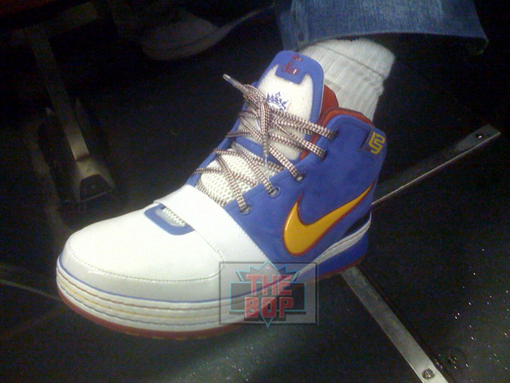 Superman Edition of the Nike Zoom LeBron VI