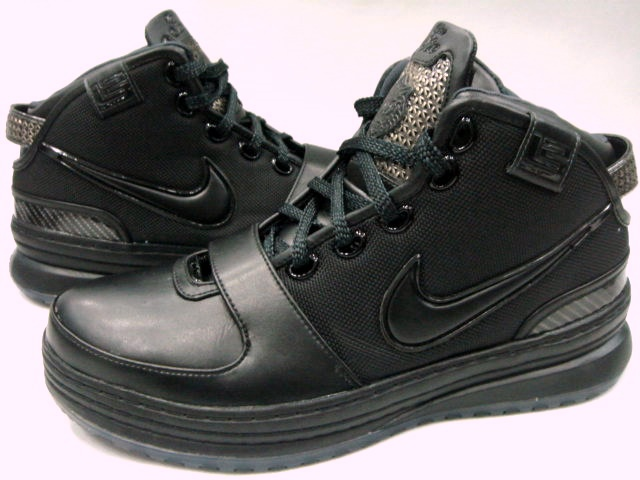 Nike LeBron 6 Low All Black Sneakers (Black/Anthracite)