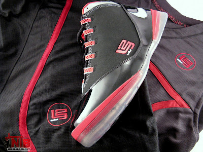lbj soldier ii pe osu away5 49 Ohio State Buckeyes Nike Zoom Soldier II Away Showcase
