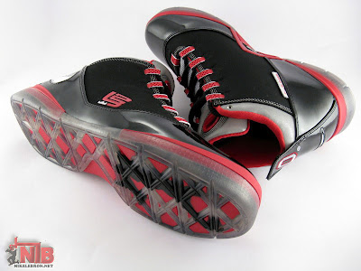 lbj soldier ii pe osu away5 21 Ohio State Buckeyes Nike Zoom Soldier II Away Showcase