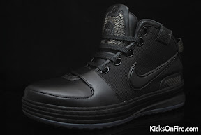 nike zoom lebron 6 gr black anthracite 9 02 General Release Zoom LeBron VIs   Black   Navy   New Photos