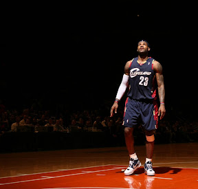 lebron james nba 090204 cle at nyc 12 Not Kobe. Not Jordan. LeBron Does Things Own Way with a 50 point Triple Double!