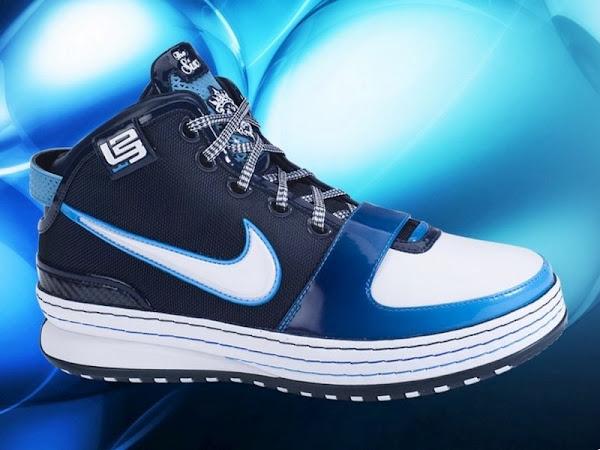 Sample vs Production AllStar Nike Zoom LeBron 6
