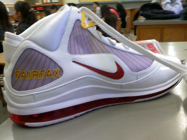 Nike Air Max LeBron VII 7 Fairfax Home PE 8211 New Photographs