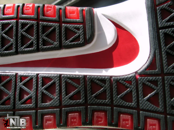 Another LeBron Six Sample 8211 Look And See Black White Red