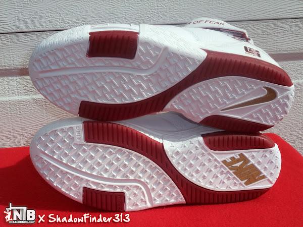 Nike Zoom LeBron II Chamber Of Fear White Red PE