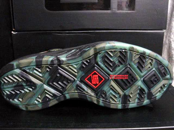 Camouflage Nike Zoom LeBron Soldier 3 Real Pictures