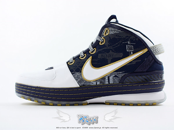 Another Look at the Nike Zoom LeBron VI Akron University