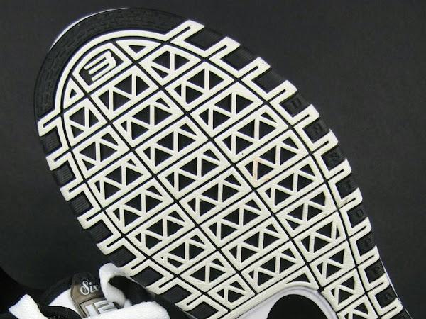 Nike Zoom LeBron VI 6 Low Black and White Actual Photos