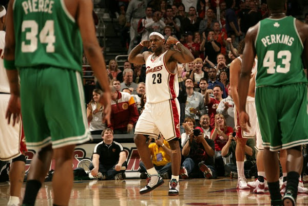 391 For Cavs as They Overpower Boston Bron Rocks the Miami aka Easter Six