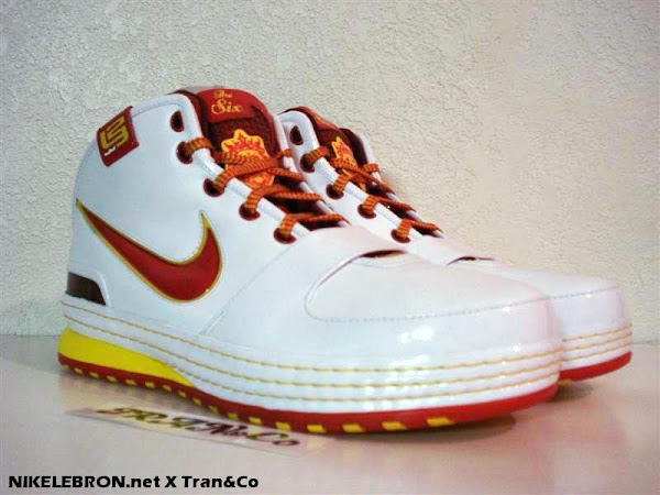 Nike Zoom LeBron VI Fairfax Home Edition Player Exclusive