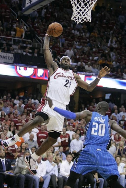 Magic Stun Cavs in the ECF Opener Overcome LeBron8217s New Playoff Record
