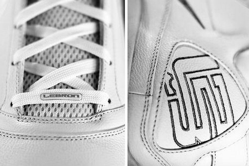 Unusual Nike Max LeBron 7 Sighting on Flickr Pure White