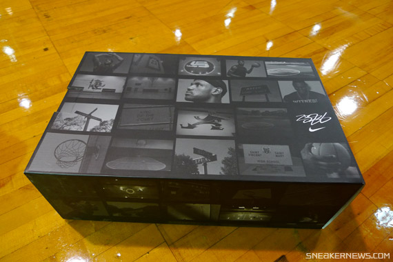 Preview of the Nike Air Max LeBron VII 7 Signature Drawer Box