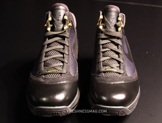 be21c673b3b2 ... Upcoming Nike Air Max LeBron VII 8211 BlackMetallic Gold