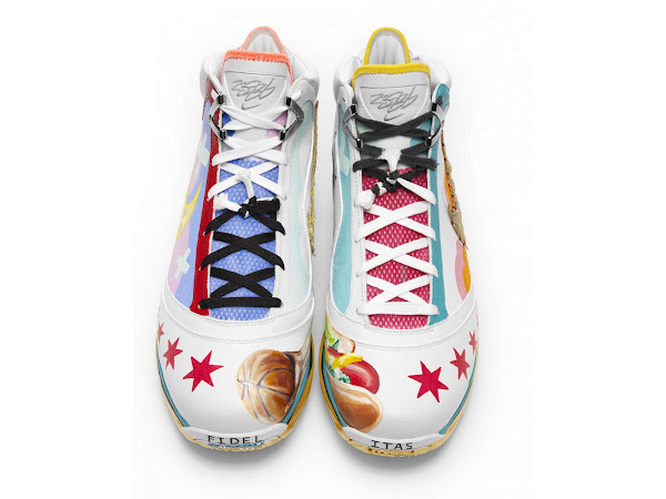 Nike Max LeBron VII Chicago Artist Series Collaboration
